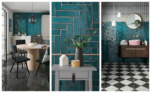 Topps Tiles Lampas Peacock Unveiled As Tile Of The Year 2019 Wall