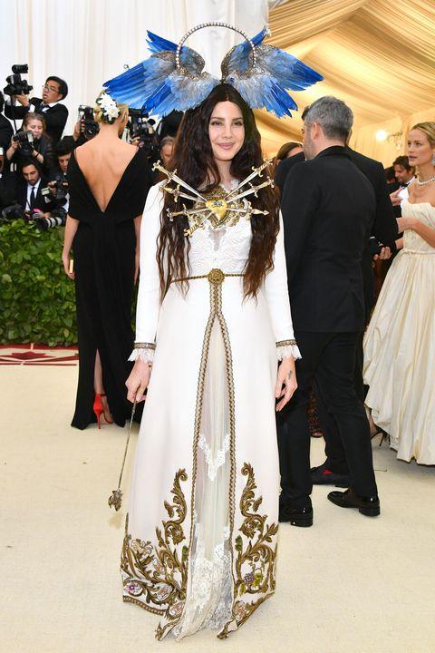 Image result for lana del rey met gala 2018