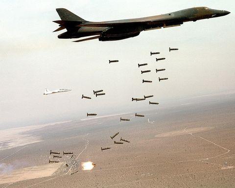 FILE PHOTO B-1 Bomber