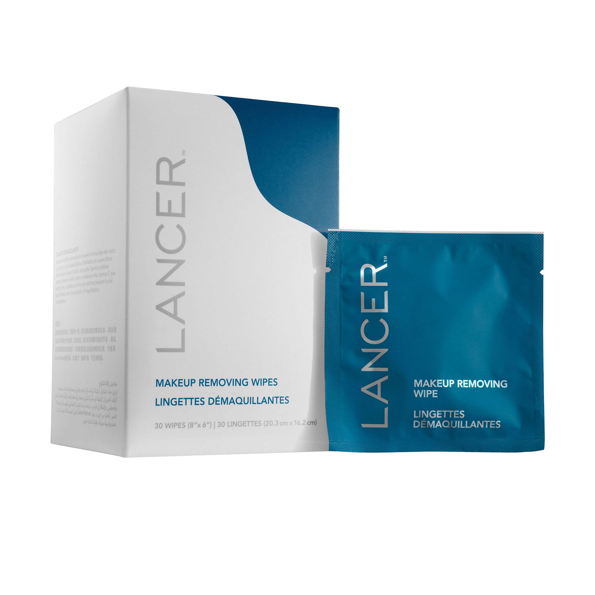 Lancer Make-Up Removing Wipes