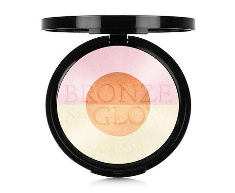 Cosmetics, Face powder, Beauty, Product, Eye, Beige, Material property, Eye shadow, Peach, Powder,