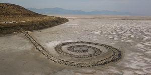 Características del land art spiral jetty
