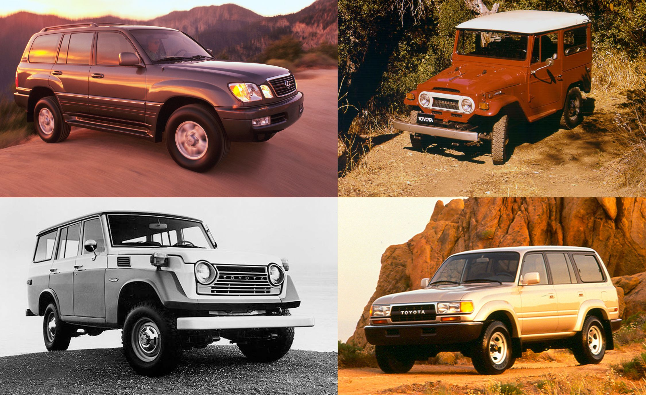 A Visual History of the Toyota Land Cruiser | Feature | Car and Driver