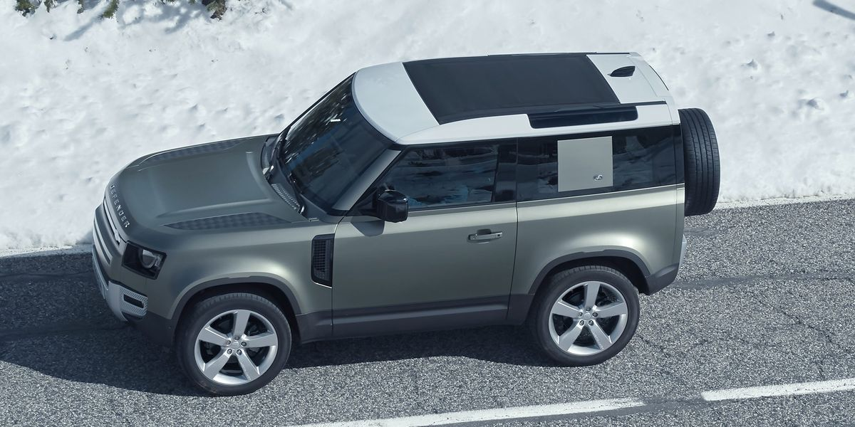land rover defender coupe