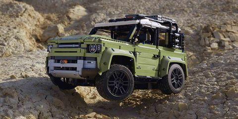 Land Rover Defender 2020 Lego Technic