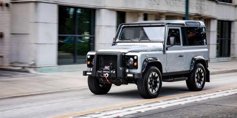 Land Rover Defender Project Blackcomb
