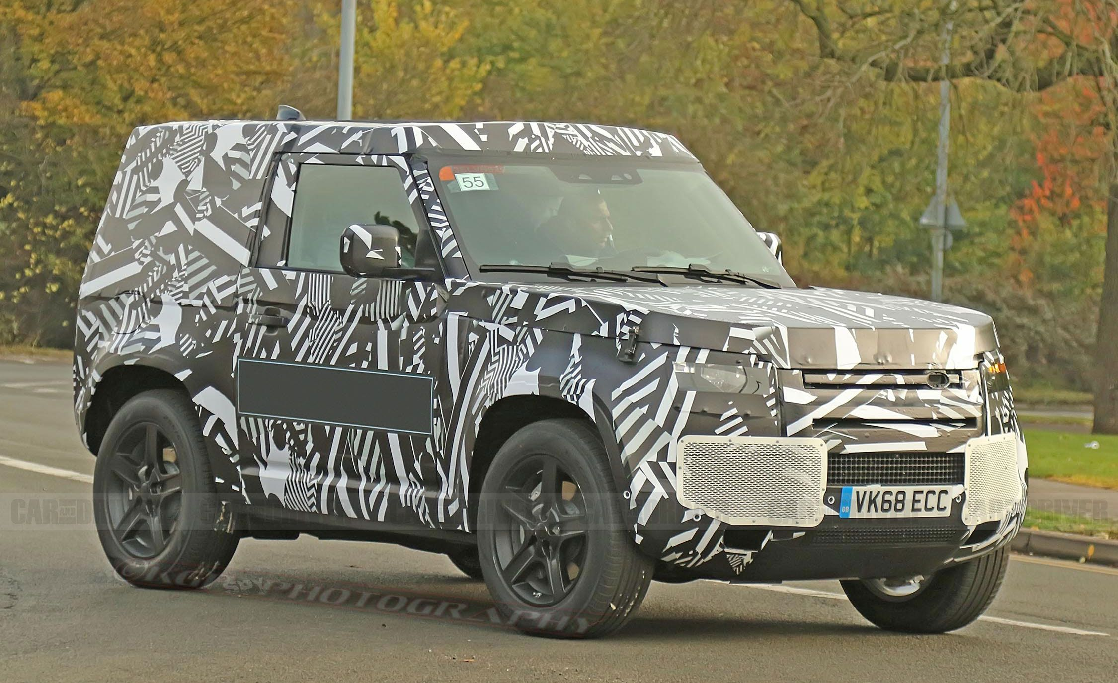 2020 Land Rover Defender Spy Shots New Land Rover Suv Pictures
