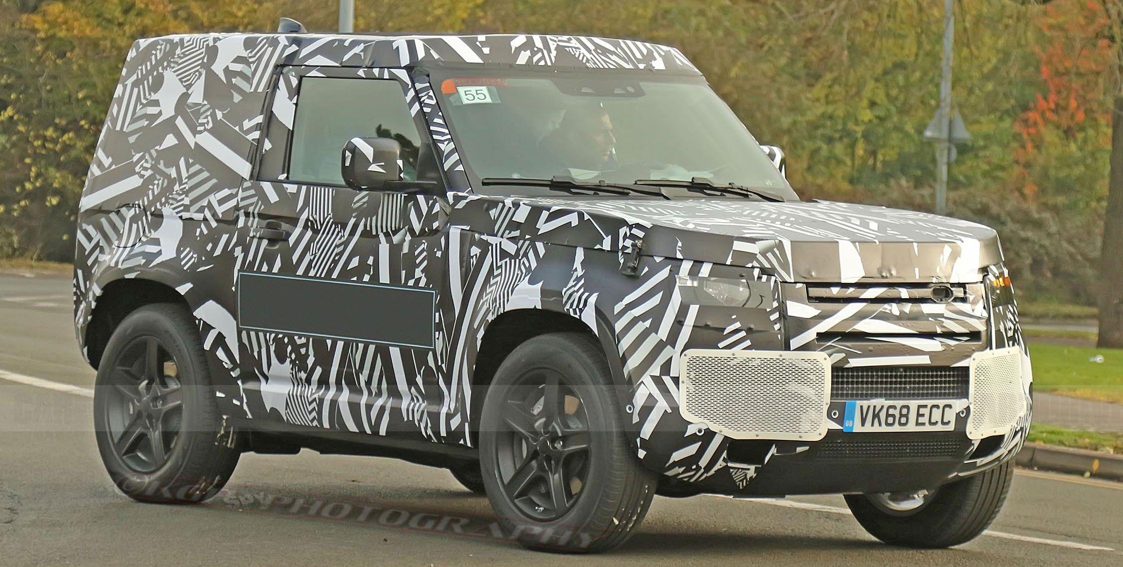 2020 Land Rover Defender Spy Shots - New Land Rover SUV ...