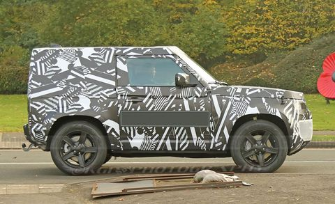 Land Rover Defender two-door