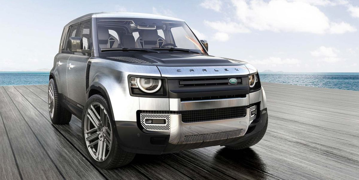 Land Rovers Don't Get More Opulent Than This Yacht-Inspired New Defender