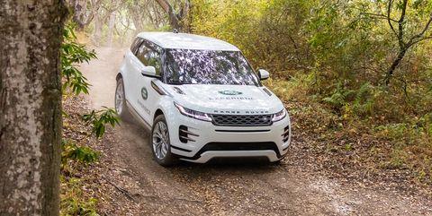 Land vehicle, Vehicle, Car, Off-roading, Regularity rally, Sport utility vehicle, Range rover, Range rover evoque, Land rover, Automotive design,