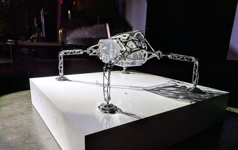 autodesk europa lander model 3d printed
