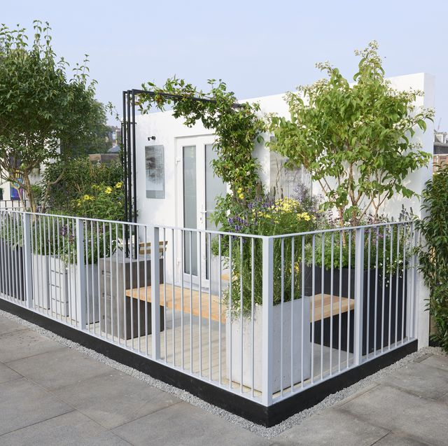 landform garden at the chelsea flower show 2021