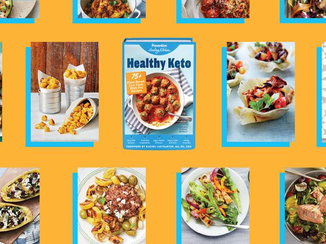 Pre-order the Prevention Healthy Keto Cookbook!