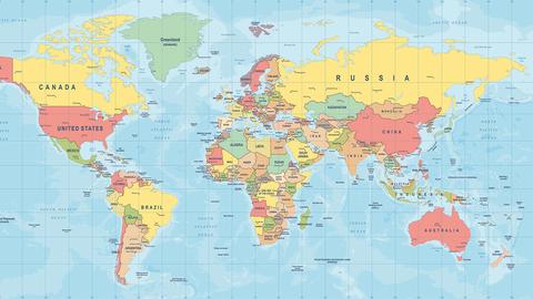 Herken jij landen aan hun vorm?
