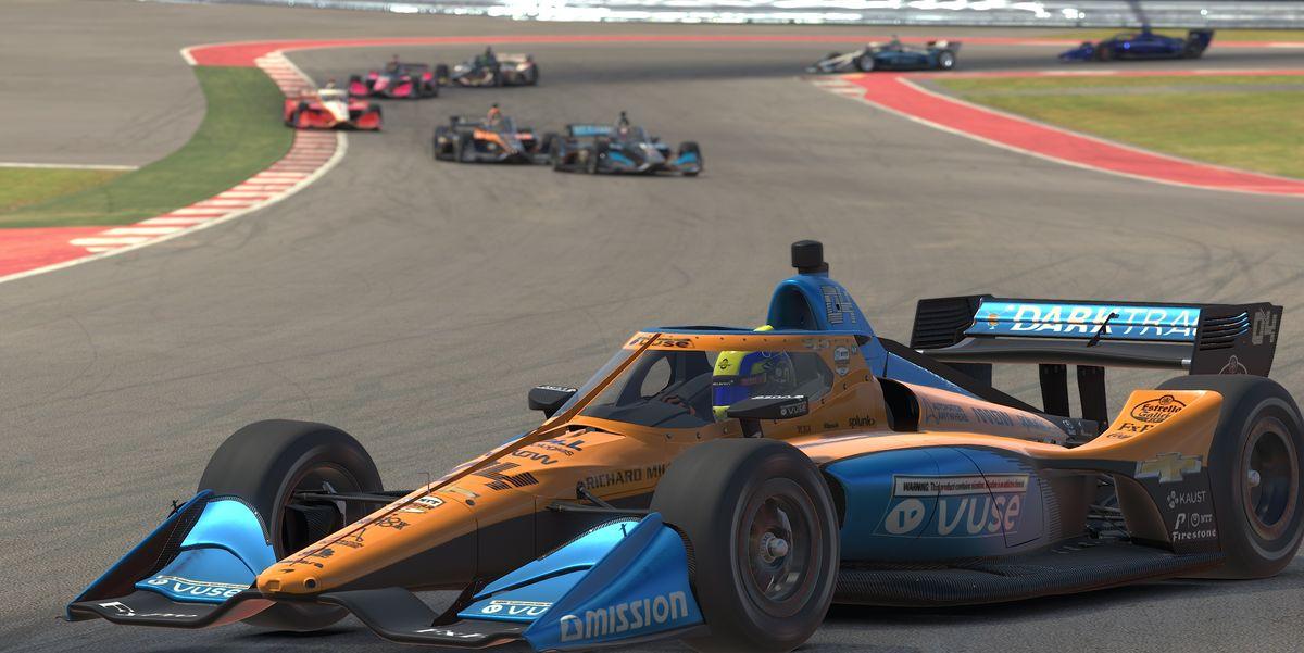 Gallery: Lando Norris wins IndyCar iRacing Challenge at COTA