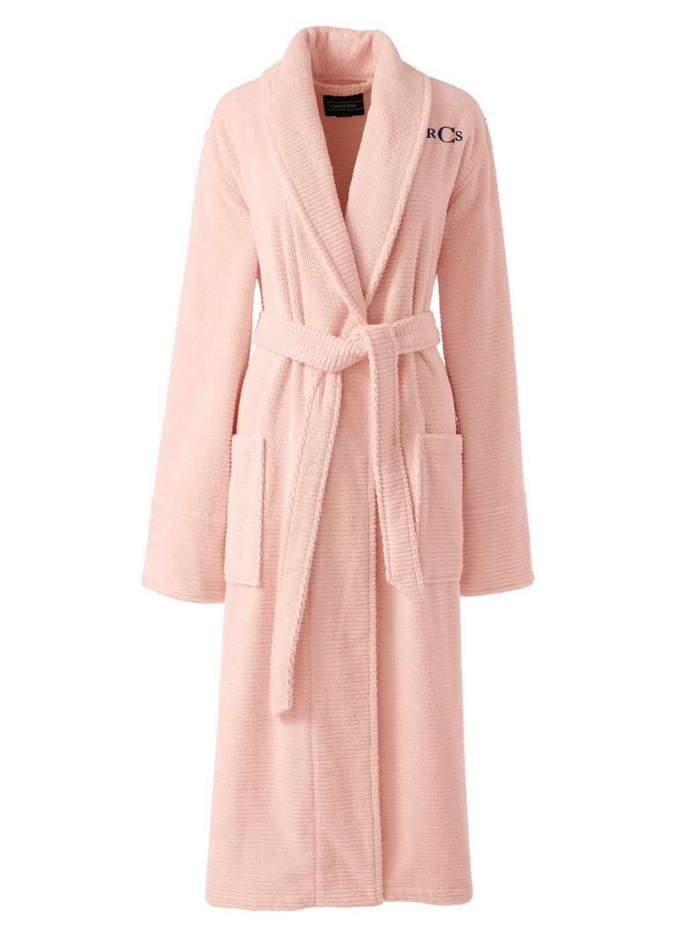 Luxury Personalised Any Name White ladies dressing gown SOFT TOUCH Gorgeous