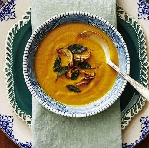 instant pot thanksgiving   butternut squash soup