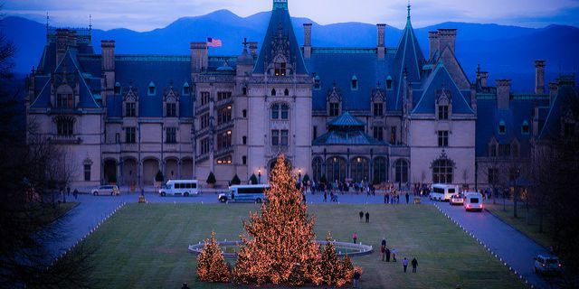 Biltmore Estate at Christmas Is Something Everyone Should Witness in Their Lifetime
