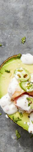 Healthy Appetizers — Citrusy Shrimp-Stuffed Avocados