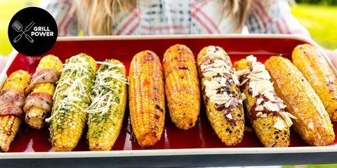 Food, Cuisine, Corn on the cob, Sweet corn, Dish, Vegetable, Corn on the cob, Ingredient, Vegetarian food, Produce,