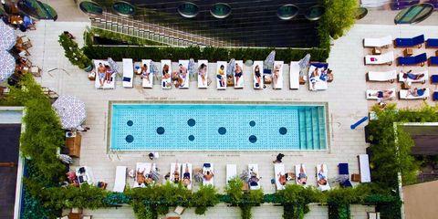 Swimming pool, Building, Leisure, Leisure centre, Architecture, Condominium,