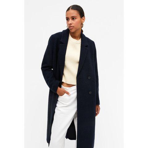 lange mantel jas dames van monki