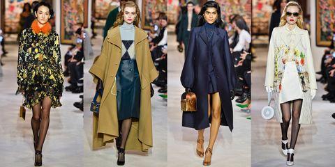 Fashion model, Clothing, Fashion, Outerwear, Street fashion, Coat, Footwear, Overcoat, Fashion design, Event,