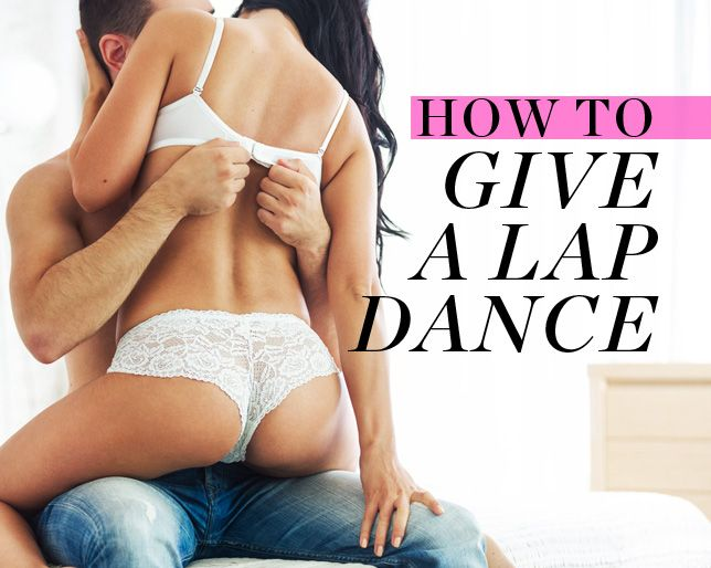 How to Give a Lap Dance Without Feeling Ridiculous