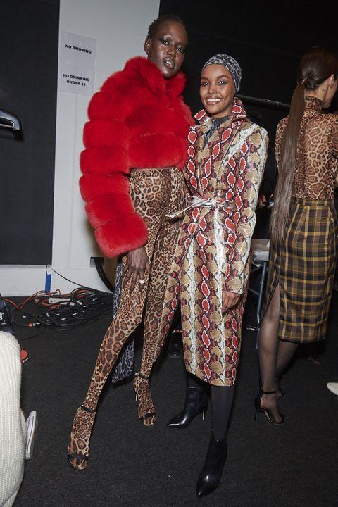 Fashion, Fashion design, Fur, Dress, Event, Tights, Fun, Textile, Footwear, Leg,