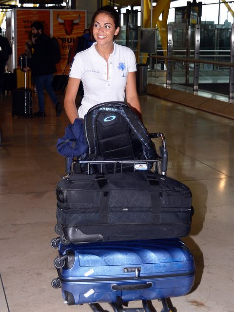 Baggage, Luggage and bags, Electric blue, Travel,