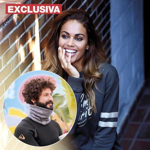 lara álvarez tiene una nueva ilusión, un instructor de surf canario