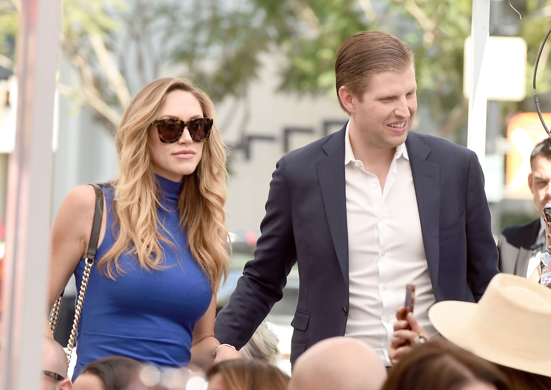 Donald Trump's Daughtersinlaw Lara Trump And Vanessa Trump  Wives Of  Trump Sons