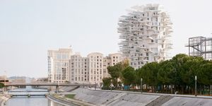 L'Arbre Blanc, una unión arquitectónica en Montpellier