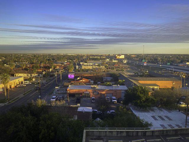 laredo landscape and sunset