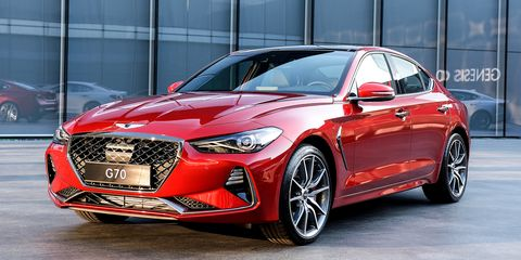 new 2018 hyundai genesis g70 photo