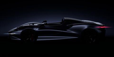McLaren Announces New Ultimate Series Roadster
