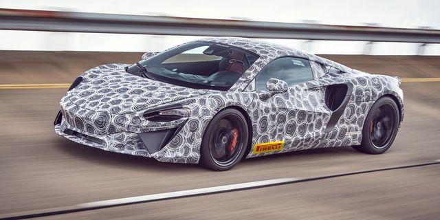 McLaren Artura Hybrid Supercar Teased
