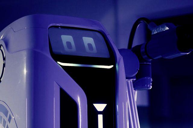 volkswagen electric charging robot