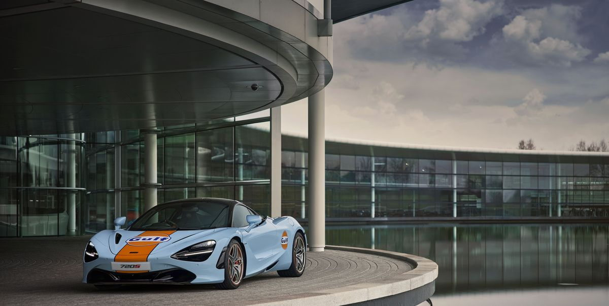 Check Out the McLaren 720S Wearing Gulf Colors