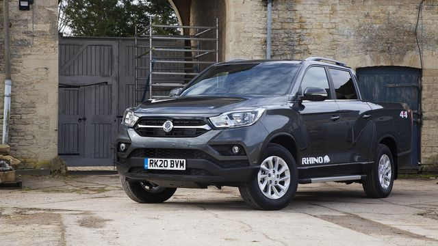 2020 ssangyong musso rhino