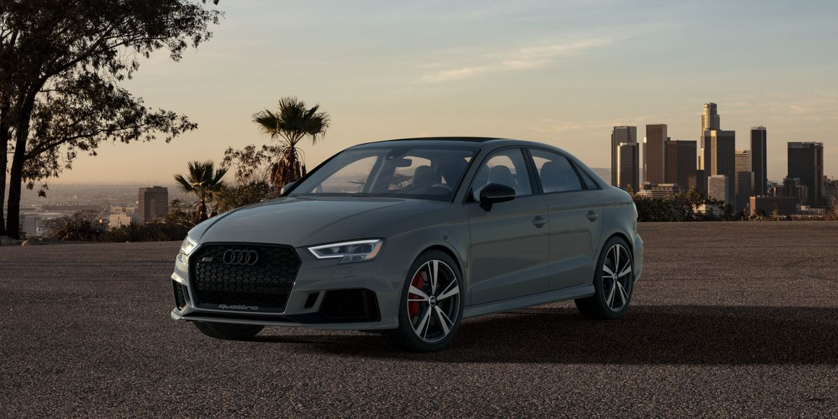 400-HP 2020 Audi RS3 Getting a Limited Nardo Edition