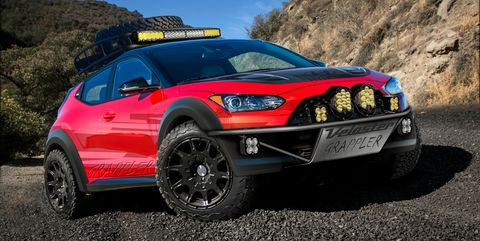 Hyundai Turns Veloster into Crazy Off-Roader with Grappler Concept
