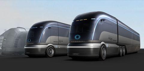 Hyundai Mobility Vision Hydrogen Truck