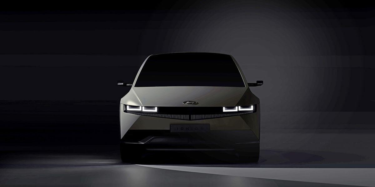 Here's a Glimpse of the 2022 Hyundai Ioniq 5 EV