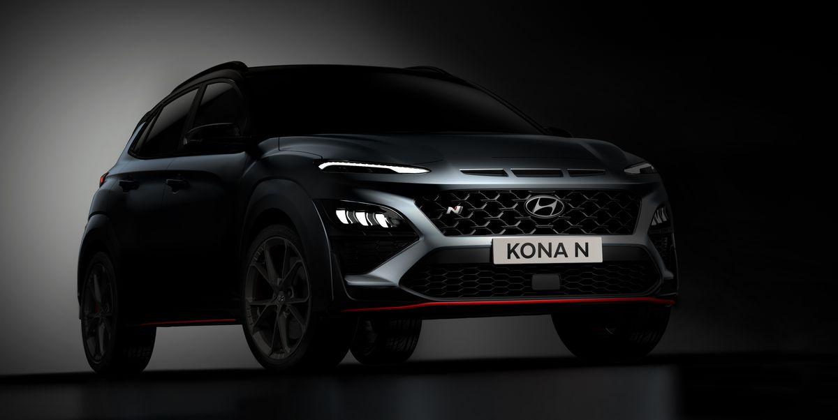 275-HP Hyundai Kona N Previewed with Aggressive Looks