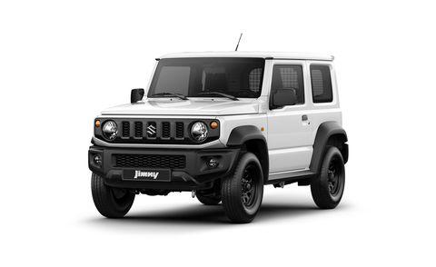 2021 suzuki jimny commercial vehicle