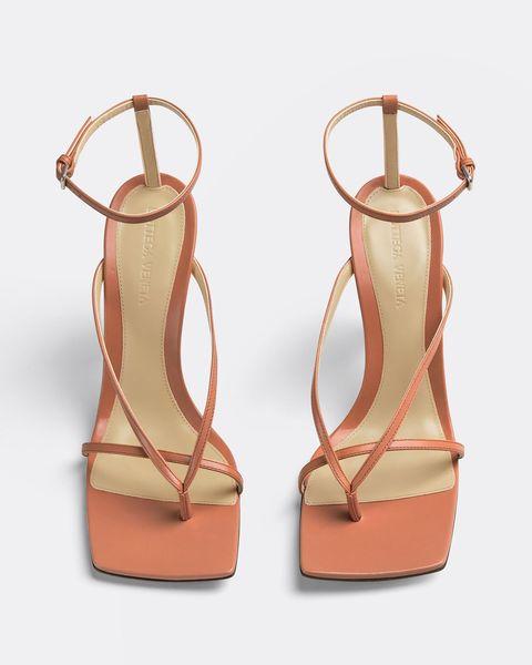 bottega veneta, strappy sandal, shoe trend, square toe