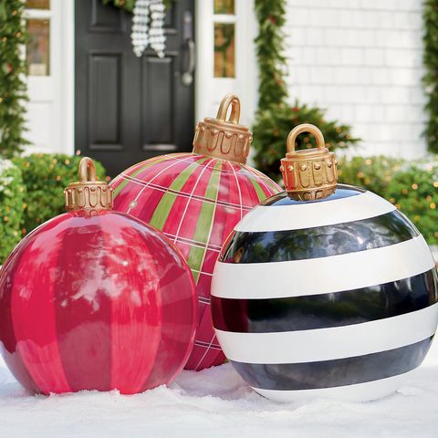 large christmas yard ornaments - Large Christmas Decorations