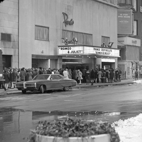 "Paris Movie Theater ""Romeo And Juliet"", New York City 1969"